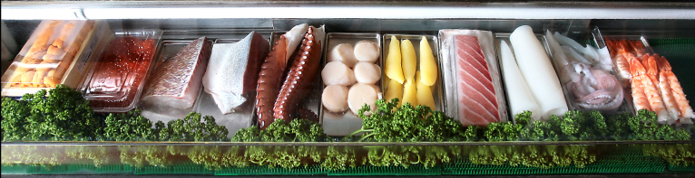 新鮮なお寿司は紫雲英